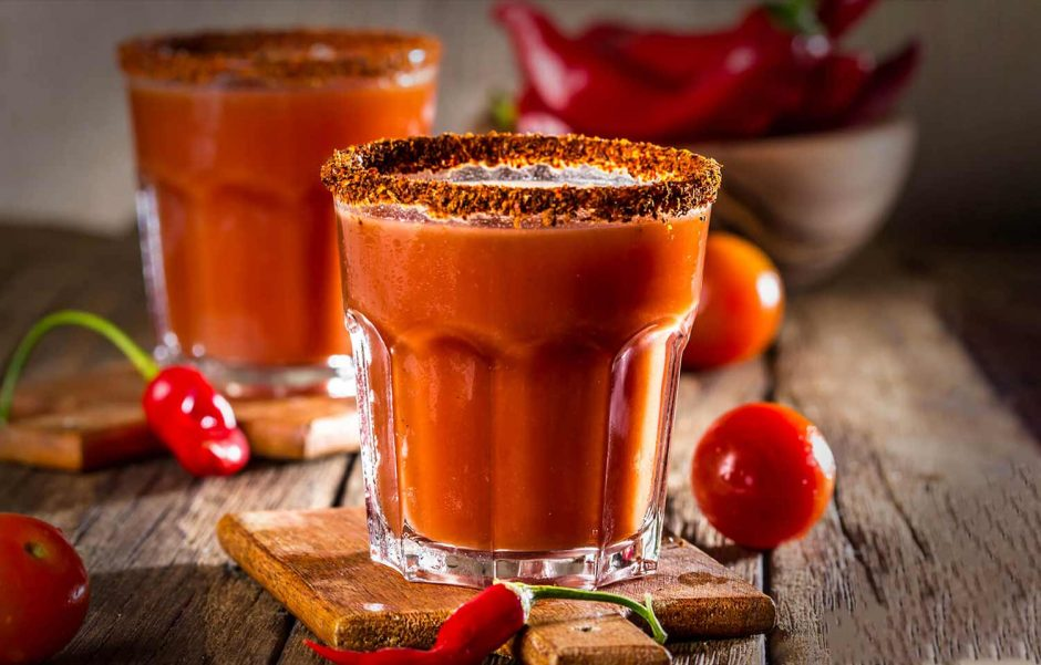 Mocktail Bloody mery tomate